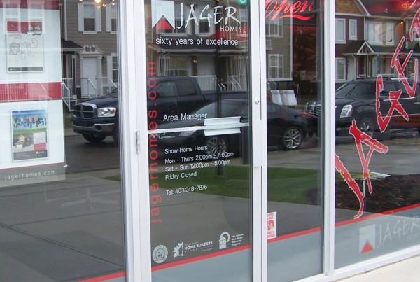 Jager showhome Storefront