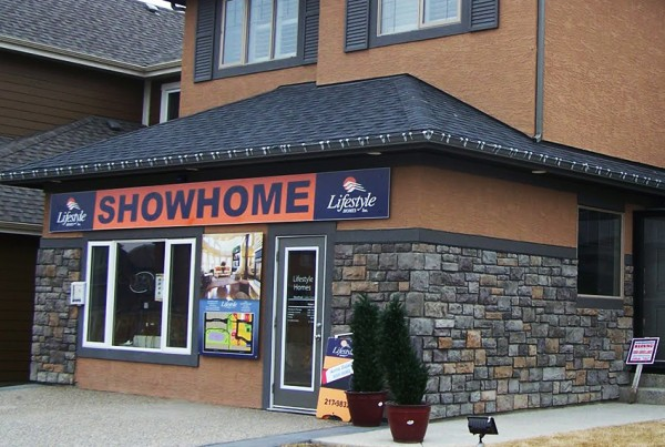 Lifestyle Showhome Front