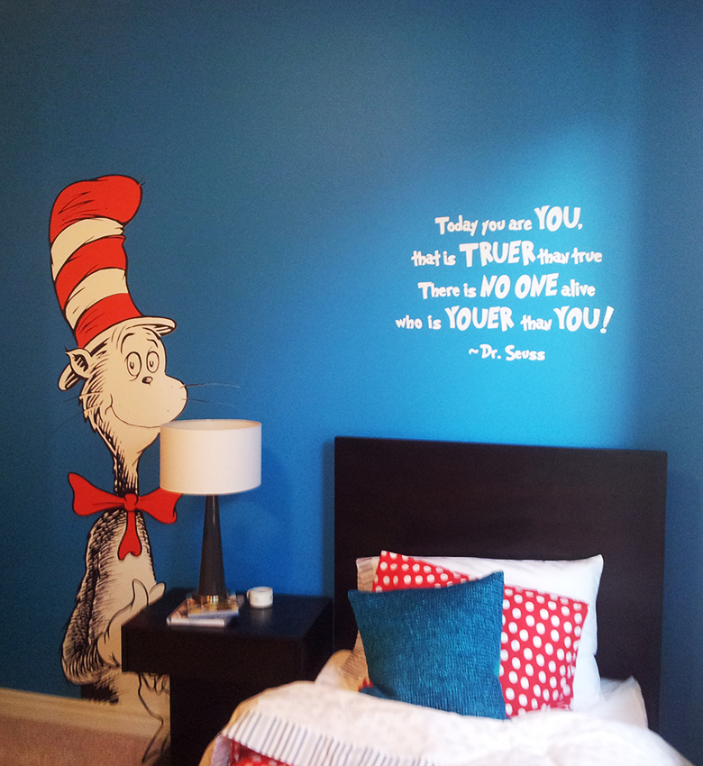 Cat in the Hat wall Tattoo and white vinyl & Trico Homes u2013 Wall Decals | Countryboyz